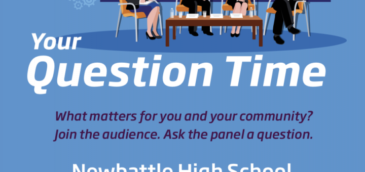 """Image of panel for """"Your Question Time"""" Event"""